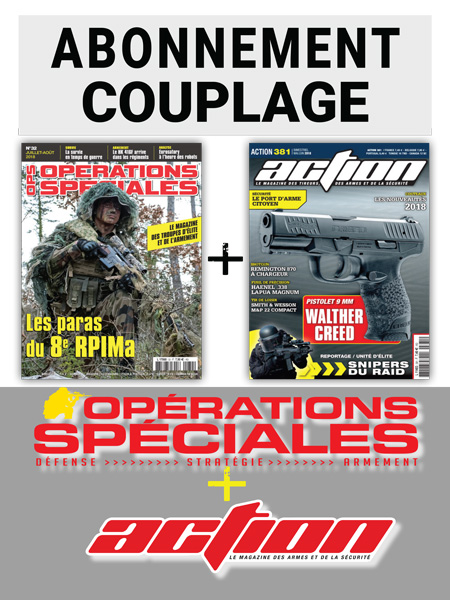 COUPLAGE OPERATIONS SPECIALES + ACTION 1 AN FRANCE