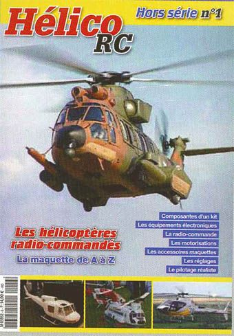 HS HELICO RC N° 1 - LES HELICOPTERES RADIO-COMMANDES