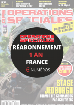 Réabonnement OPERATIONS SPECIALES en France 1 an