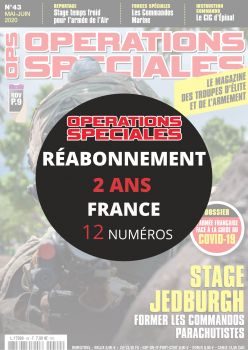 Réabonnement OPERATIONS SPECIALES en France 2 ans