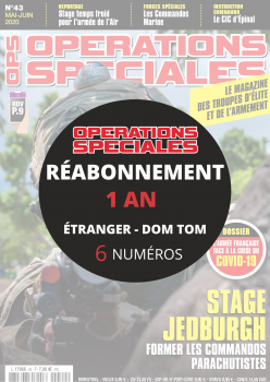Réabonnement OPERATIONS SPECIALES Etranger CEE et DOM 1 an
