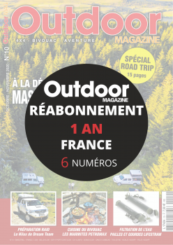 Réabonnement OUTDOOR 4X4 1 AN FRANCE