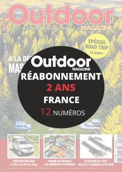 Réabonnement OUTDOOR 4X4 2 ANS FRANCE